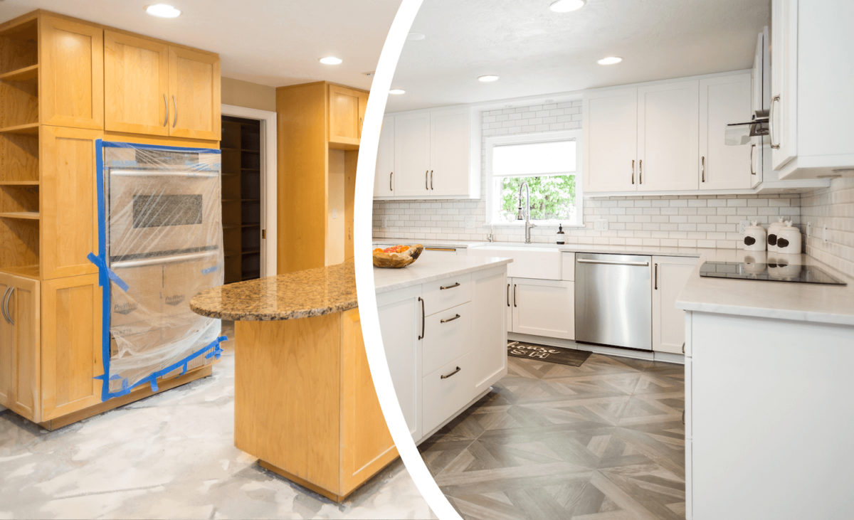 Calgary, AB | Kitchen Cabinets Painting, Staining, Refinishing & Refacing